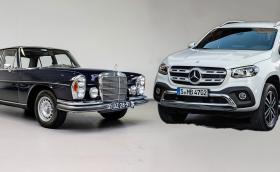 1971 Mercedes-Benz 280SE 3.5 W108 или… 2018 Merc X-Class 220 d? Цената е една и съща!