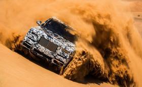 Rolls Cullinan минава последни тестове в жегата на ОАЕ. Силно видео!