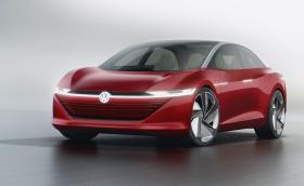Ето го следващия VW Phaeton. I.D. Vizzion е електрически, автономен и червен