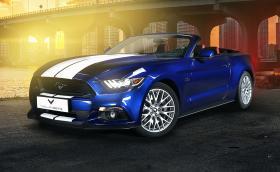 Ford Mustang GT Convertible Combo от Vilner Garage. Този път не е използвана кожа от истински коне…