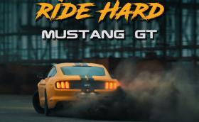 'Ride Hard' е ново българско видео в стил Gymkhana. В главните роли: рали пилотът Григор Григоров и Ford Mustang GT