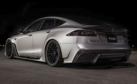 Unplugged S-APEX Tesla Model S идва с много карбон. Вдига 100 за около 2 секунди