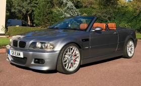 Това е BMW M3 Convertible с 2JZ мотор от Toyota Supra. Мощно е 570 коня и се продава