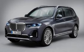 Първото BMW X7: официално и огромно