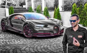 Ексклузивно! Срещнахме се очи в очи с Bugatti Chiron!