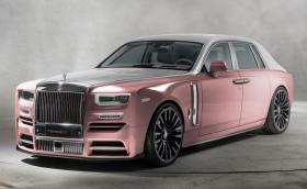 Mansory направиха розов Rolls-Royce Phantom с 24-инчови джанти