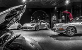 Пихме по бира в компанията на Porsche 911 GT3 RS, 1969 Porsche 911T Targa и участниците от Overdrive Lap Battle 2018