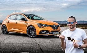 Карахме новото Renault Megane RS: 280 коня и ръчни скорости! Видео!