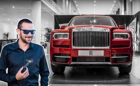 Представяме ви Негово Величество Rolls-Royce Cullinan, първият 4x4 на британската марка. Видео!