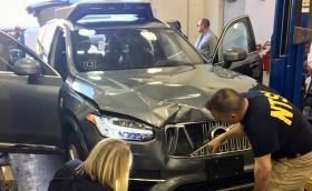 Заводските системи за сигурност на Volvo-то на Uber, което уби пешеходец, са били изключени