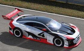 Audi e-tron Vision Gran Turismo Concept е такси с 815 коня, което вдига сто за 2,5 секунди