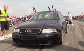 Audi S4 B5 с 1250 кончета под капака изглежда удивително скромно