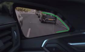 Ето как работят камерите вместо огледала в новото Audi e-tron. Видео.