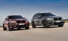 BMW показа новите X3 M и X4 M по пижами