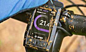 Kiox е новият велокомпютър на Bosch за е-колело, който обича калта