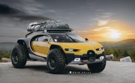Това е най-проходимото Bugatti