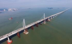 Китай пусна най-дългия морски мост в света