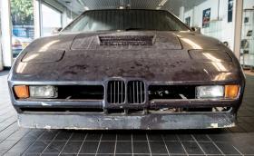 Това е забравено и намерено BMW M1 Turbo, направено за рекорд. Имало е и версия на газ