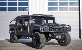 Грозен, голям и непобедим! Mil-Spec Hummer H1 има 6,6-литров дизелов V8 с 1355 Нм