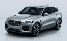 Jaguar F-Pace току-що се сдоби с версия SVR с 550 к.с.