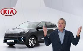 Робърт де Ниро представи новата Kia e-Niro. Странен хумор от Kia...