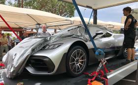 1000-конният Mercedes-AMG Project One се появи в Монако. За кратко.