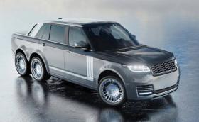Range Rover 6x6 е най-безсмислената кола, която ще видите днес