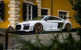 """Това Audi R8 казва: """"Спрете облепването с хромирано фолио"""""""