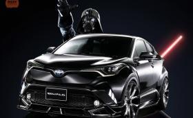 Wald Toyota C-HR Sports Line изглежда супер. Качена е на 22-инчови джанти