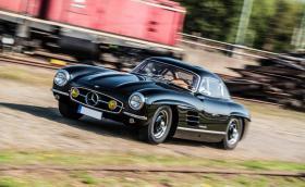 Откраднаха рядък Mercedes-Benz 300SL Gullwing от 1955