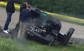Koenigsegg разби уникалната Agera RS Gryphon за втори път