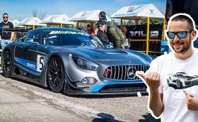 """Този брутален Mercedes-AMG GT3 потроши рекорда на """"Серес"""", бяхме там. Видео и галерия"""