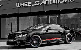 Bentley Continental 24 на WheelsandMore идва със 765 к.с.