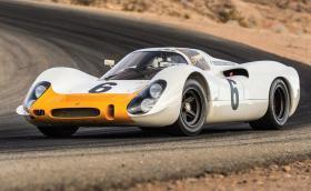 1968 Porsche 908 Works 'Short-Tail' Coupe. Това е едно от 5-те направени някога и се продава