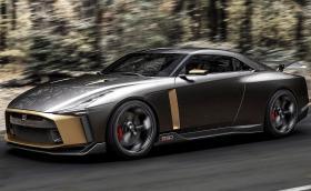 """Nissan GT-R50 е 720-конна """"торта"""" за 50-ата годишнина на GT-R и Italdesign"""