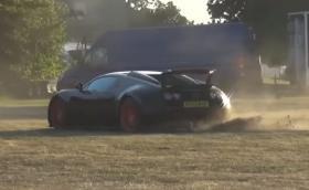 Bugatti Veyron 'WRC' или как да съсипеш адски скъп автомобил. Дрифт с Grand Sport Vitesse. Видео