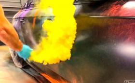 Изумителната техника за боядисване 'Pearl Bomb'. Галерия и видео
