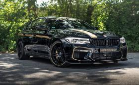 MH5 700 e новото BMW M5 от Manhart Performance. Мощно е 723 к.с. и ускорява от 100 до 200 км/ч за 5,9 сек