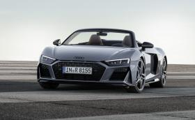 Audi обнови R8 Coupe и Spyder, имат повече коне