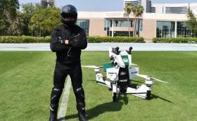 Вижте новите летящи играчки на дубайската полиция. Видео