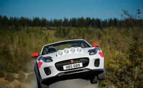 Jaguar направи F-Type за рали. Без покрив!