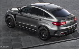 GLE 63 S Coupe от AutoDynamics достига 100 км/ч за 3,3 секунди