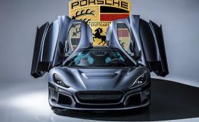 Porsche купи 10% от хърватската компания за електрически хипер коли Rimac Automobili