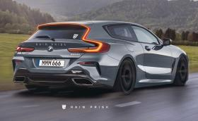 BMW M850i xDrive Shooting Brake? Конкурент на Pana Sport Turismo? Да или не? Плюс още 19 проекта на Райн Приск