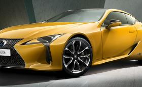 Lexus LC 500 Yellow Edition e… жълт Lexus LC 500, кола, която адски много харесваме