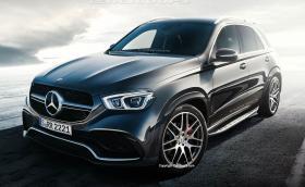 Новият Mercedes-Benz GLE. Рендър на колата, снимки и всичко, което знаем дотук