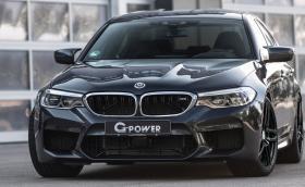 G-Power напомпаха BMW M5 F90 до 800 к.с. и 980 Нм. Вдига сто за 2,9 секунди и развива 335 км/ч