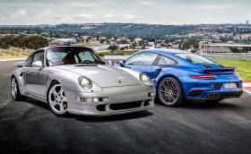 Това 20-годишно Porsche 993 Turbo S се продава за с 860 хил. лв. Двойно повече от цената на ново 911 Turbo S