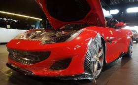 Ferrari Portofino е вече у нас. Най-новият 600-конен модел на италианците получи фолио от Overdrive