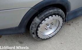 Този нов патент за тип колела може да направи революция? Това са супер странните 'Liddiard Wheels'